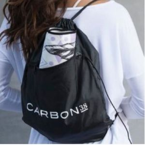 New ~ CARBON38 Purchase ~ Drawstring Backpack